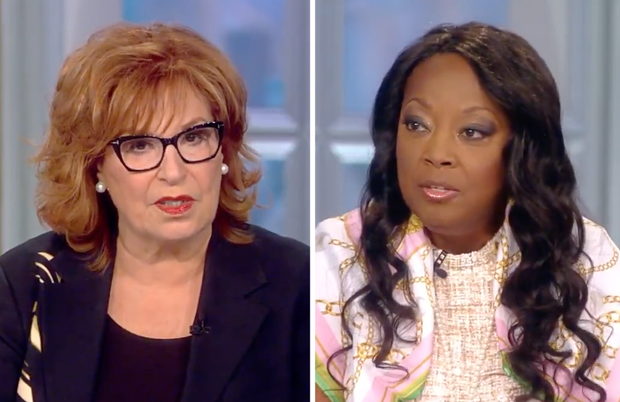 """Original co-host Star Jones returned to The View for the show's first """"Flashback Friday"""" episode this morning. (Photos: ABC)"""