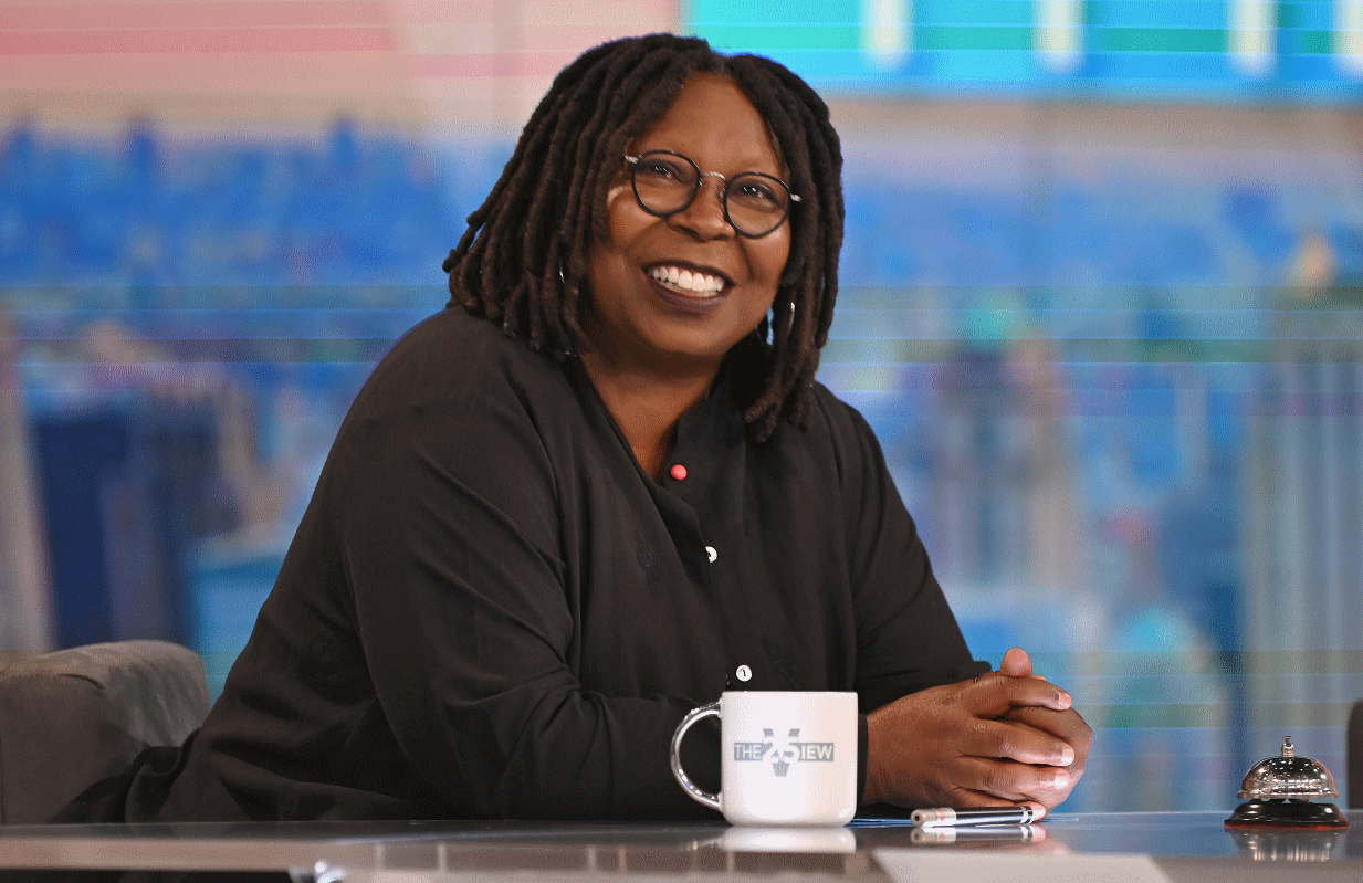 Whoopi Goldberg was tanned, rested and ready to go as The View returned for its Season 25 premiere Tuesday morning. (Photo: ABC/Jenny Anderson)
