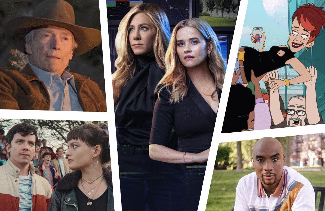 Photos: HBO Max, Apple TV+, Netflix, Comedy Central