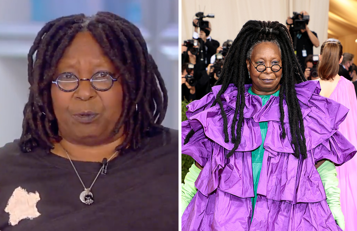 Whoopi Goldberg had much to say about her big night out at Monday's Met Gala. (Photos: ABC)