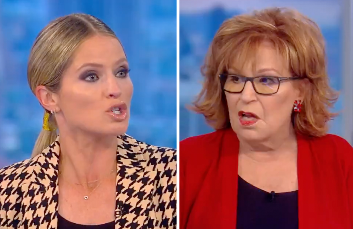 Sara Haines and Joy Behar got into it this morning on The View. (Photo: ABC)