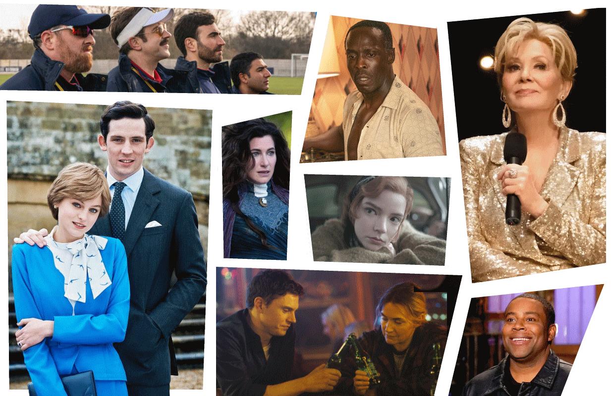 Photos: Apple TV+, HBO, HBO Max, Netflix, Disney+, NBC.