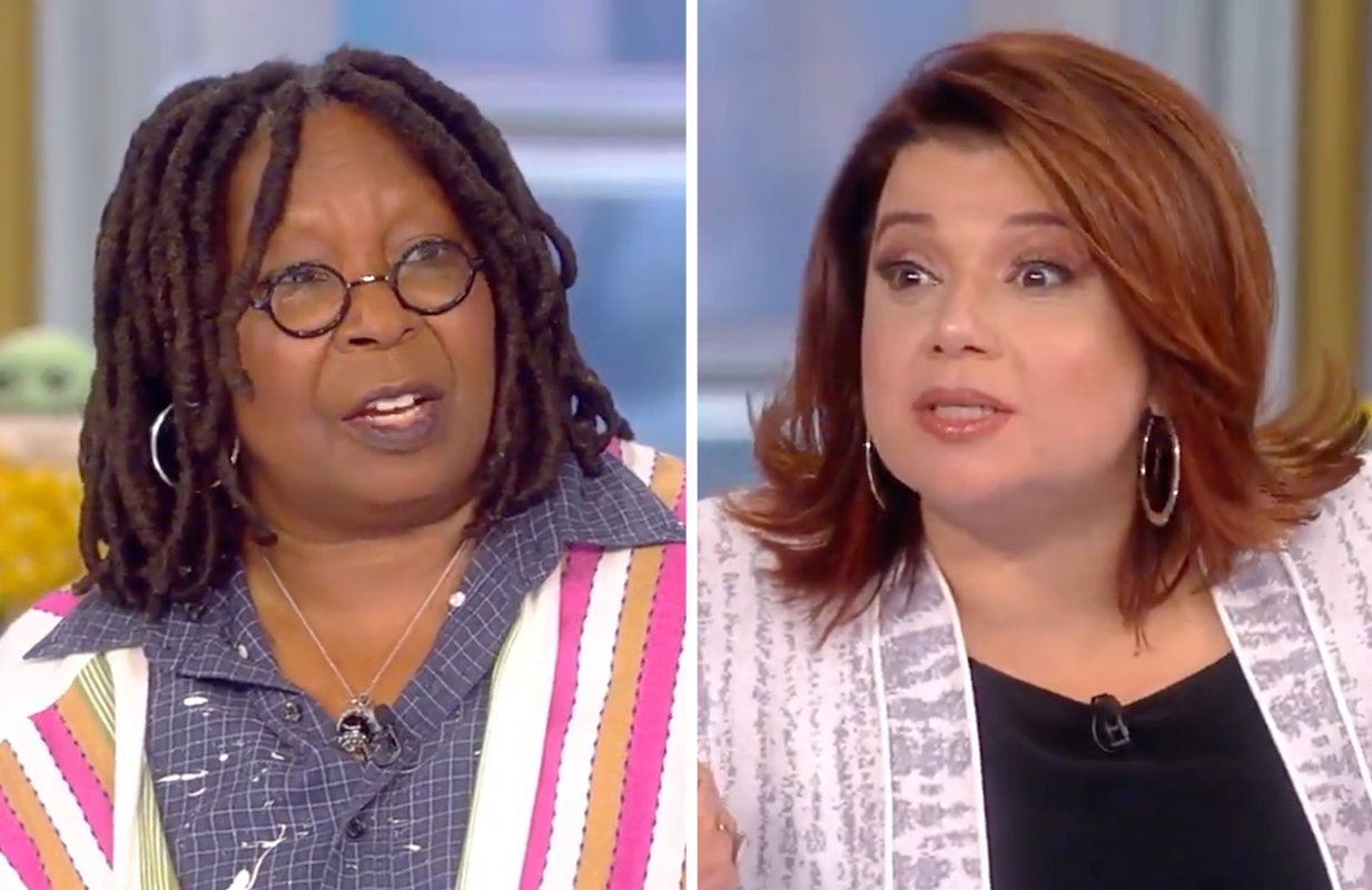 Guest co-host Ana Navarro's Nicki Minaj jokes earned her a raucous round of applause from the audience this morning. (Photos: ABC)
