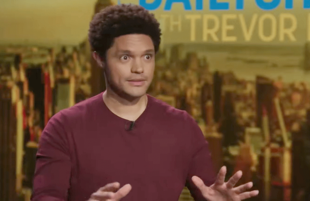 Trevor Noah's Daily Show moved to a new Times Square studio last night (or so they tell us).