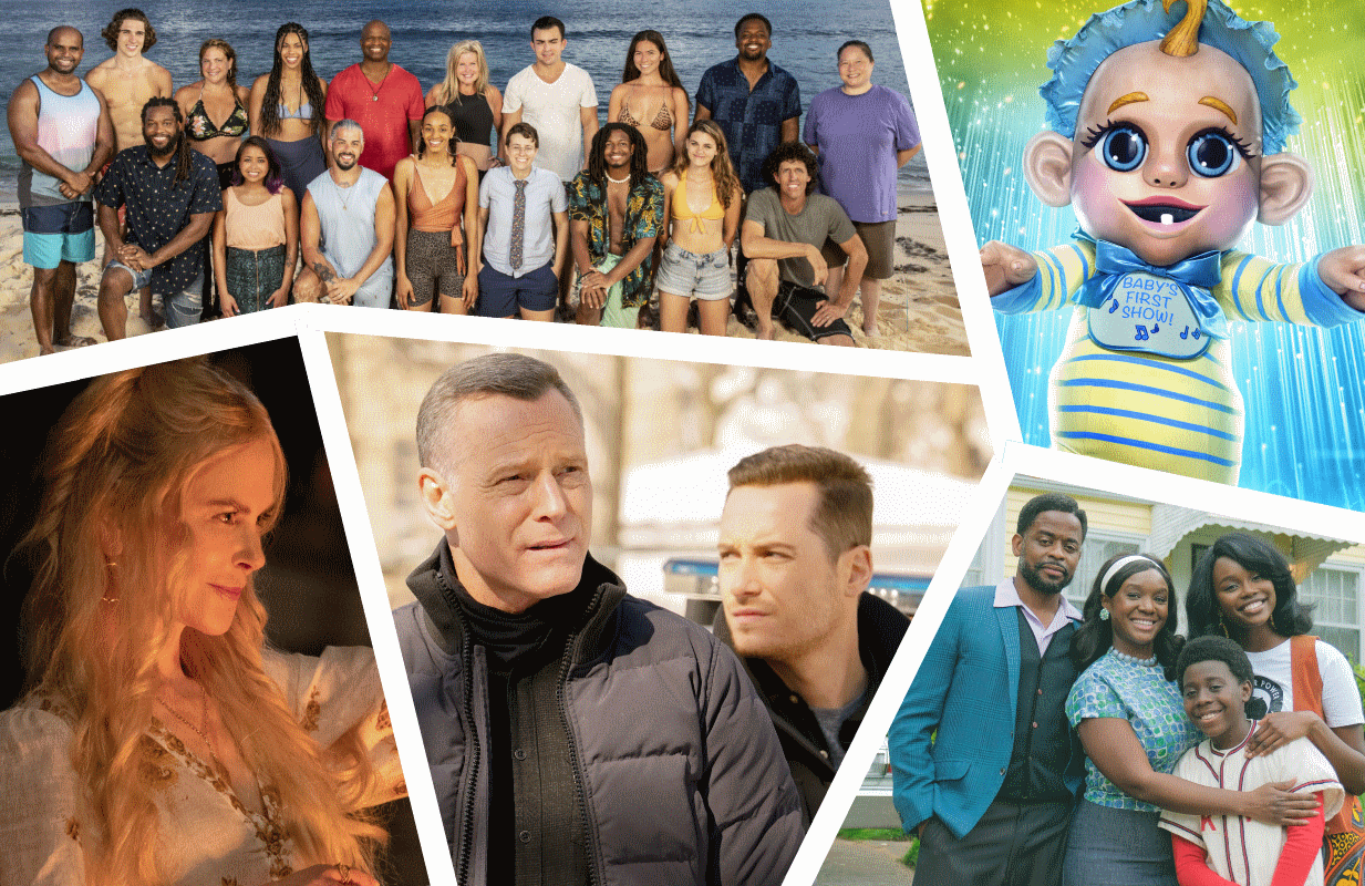 Photos: CBS, FOX, Hulu, NBC and ABC
