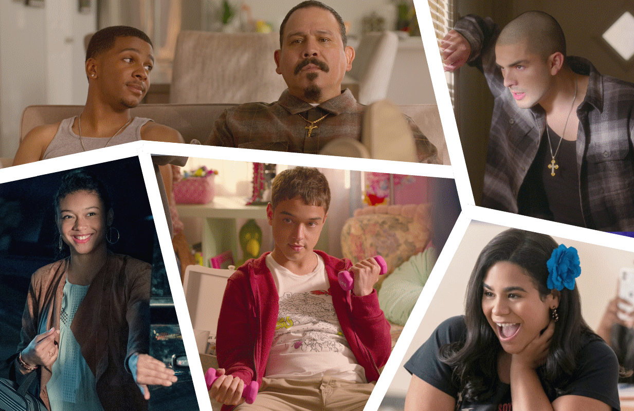 The cast of On My Block time-jumps their way back to Netflix for the show's fourth and final season.. (Photos: Netflix)