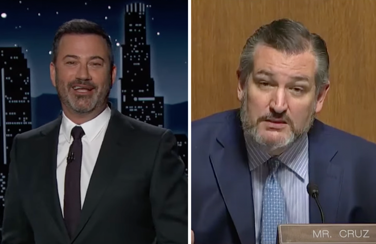 Jimmy Kimmel roasts Ted Cruz's support for the Free Britney movement (Photo: ABC)