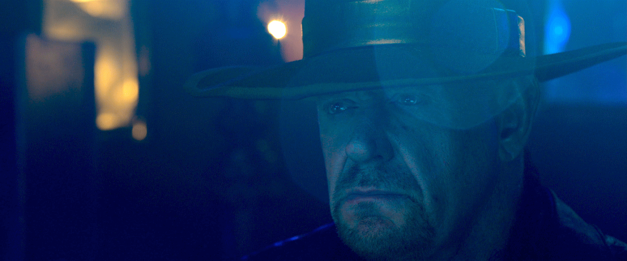The Undertaker is back, creepy as ever, in his own Netflix special