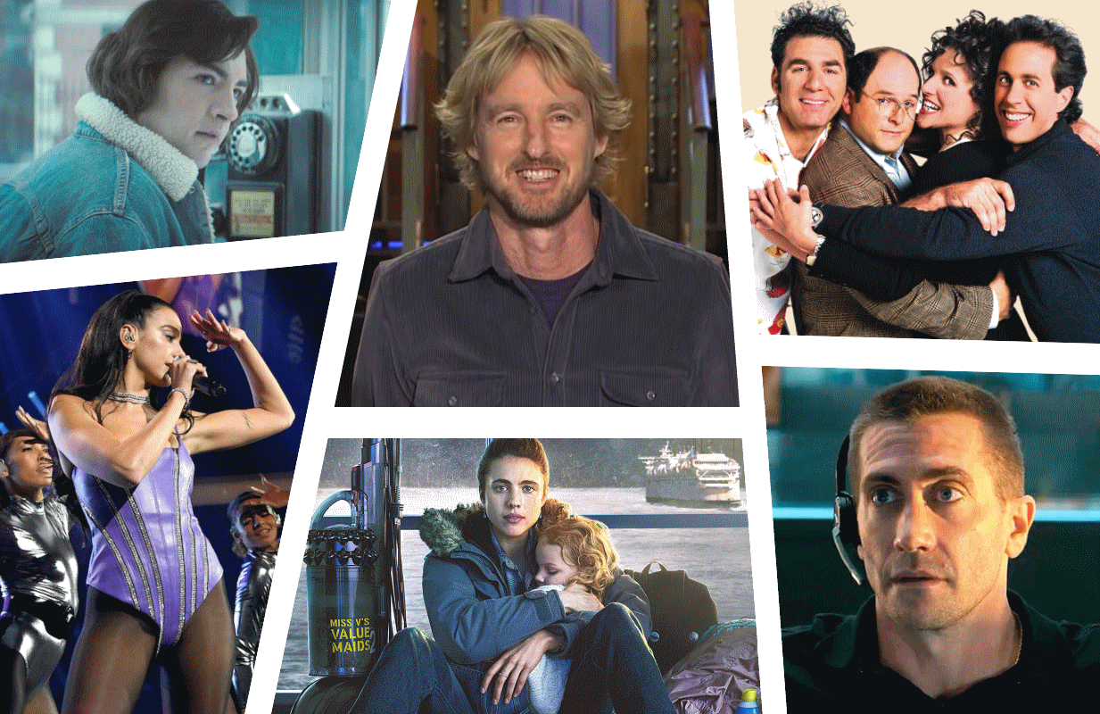Photos: Warner Bros, NBC, Sony Pictures Television, iHeart Radio, Netflix.