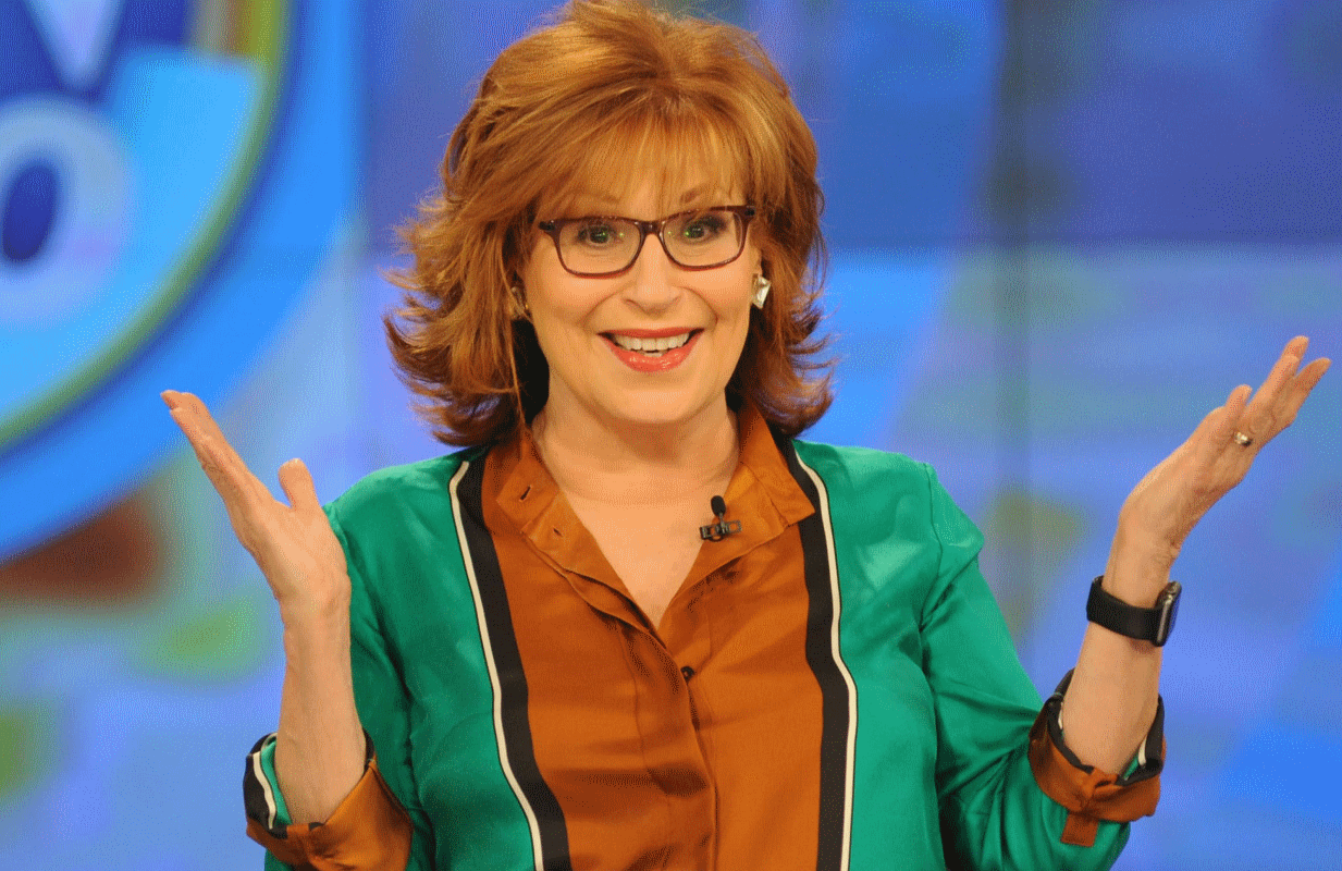 Why we're happy Joy Behar is our aunt — and not our mother. (Photo: ABC)