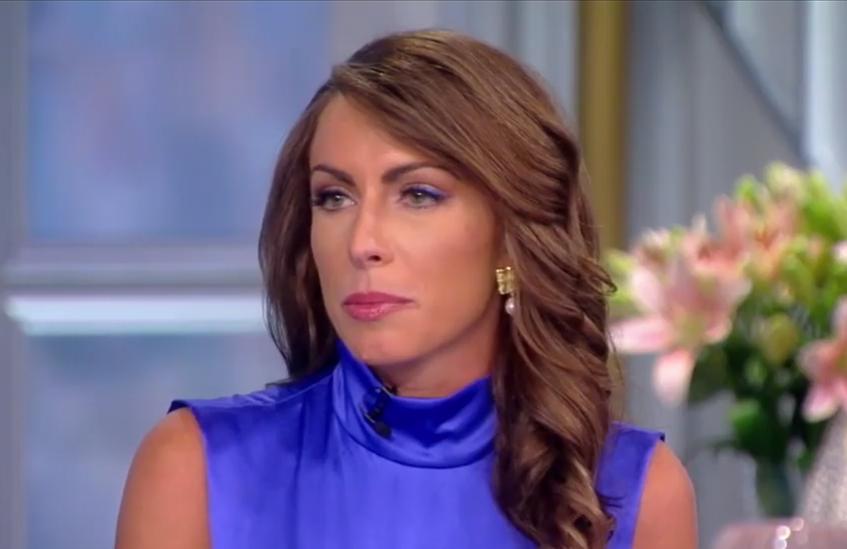 Alyssa Farah gave a strong performance as The View's guest co-host this week. (Photo: ABC)