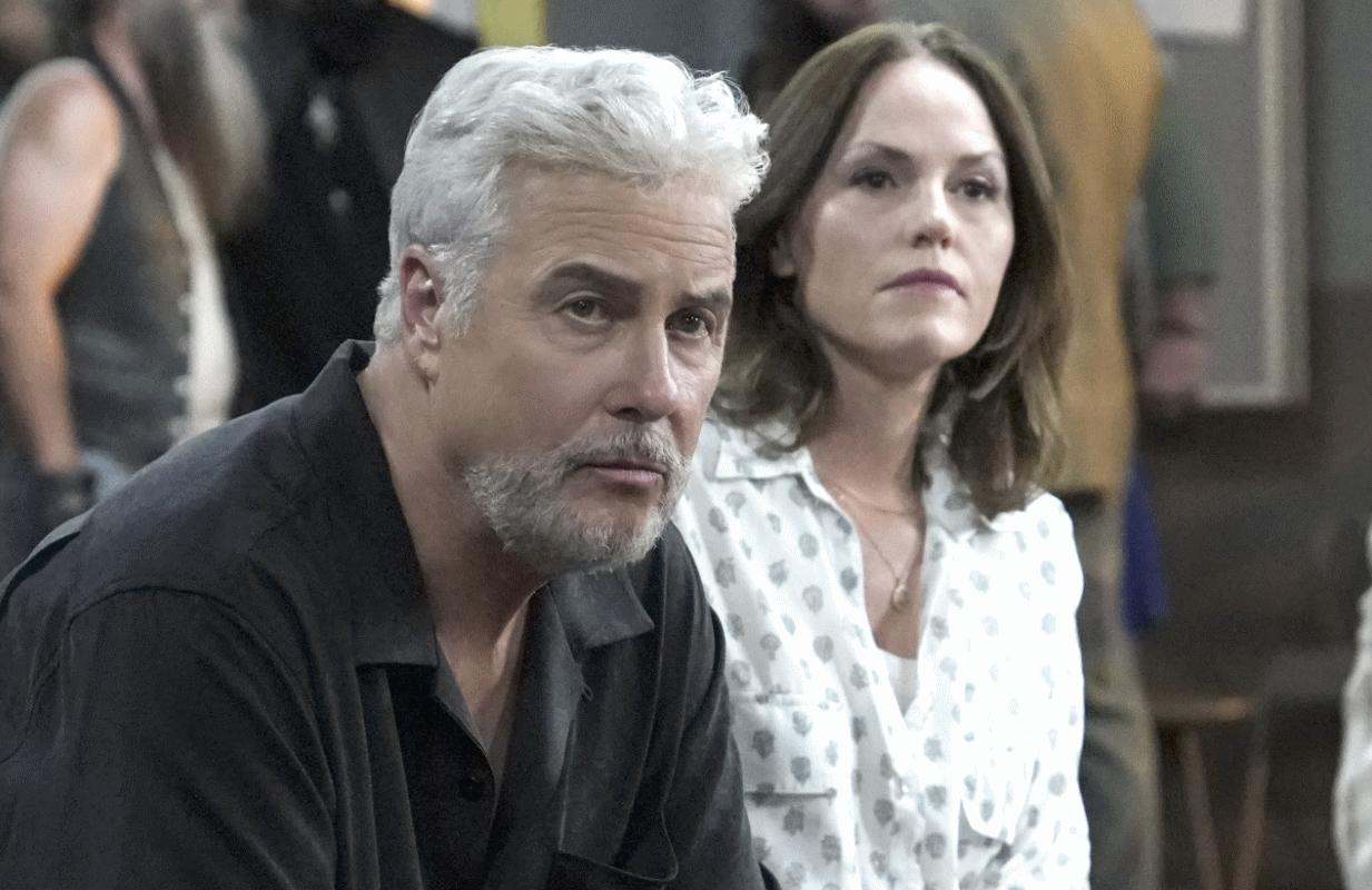 William Petersen and Jorja Fox are back in CSI: Vegas (Photo: Sonja Flemming/CBS 2021)