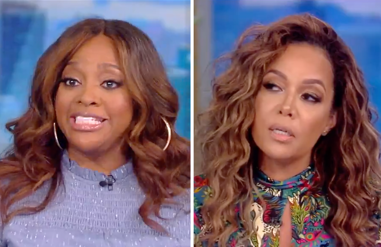 Sherri Shepherd and Sunny Hostin took opposite positions on the Joe Rogan issue today on The View. (Photos: ABC)
