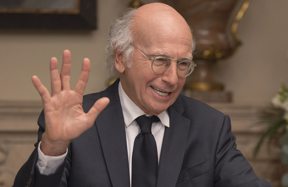 Larry David in Sunday's Season 11 premiere of Curb Your Enthusiasm. John P. Johnson/ HBO