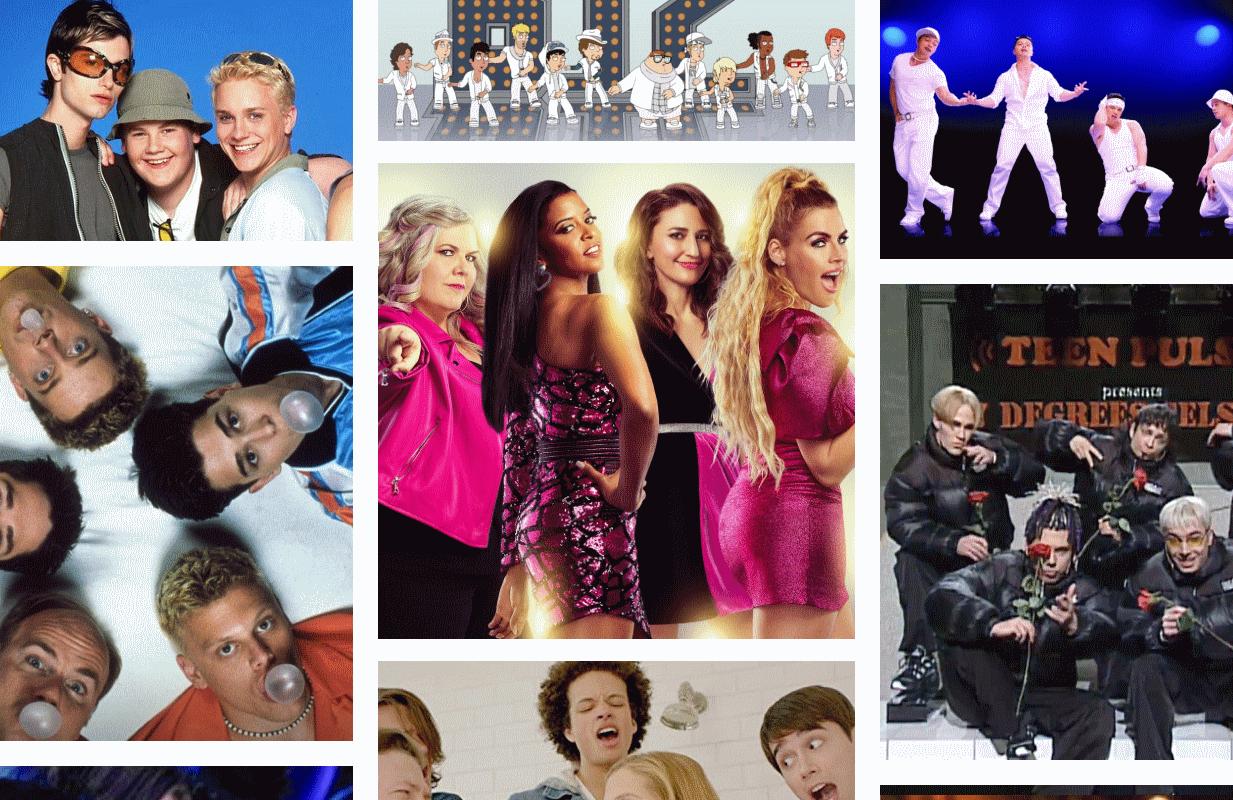 Photos: Channel 4, TBS, The CW, MTV, Peacock, NBC, Comedy Central.