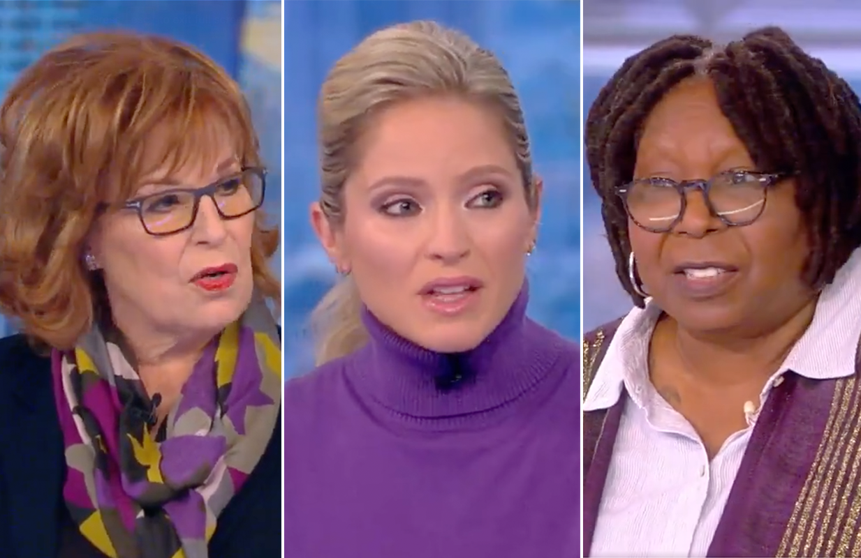 The View went fully off the rails Thursday morning during a discussion about the death penalty. (Photos: ABC)