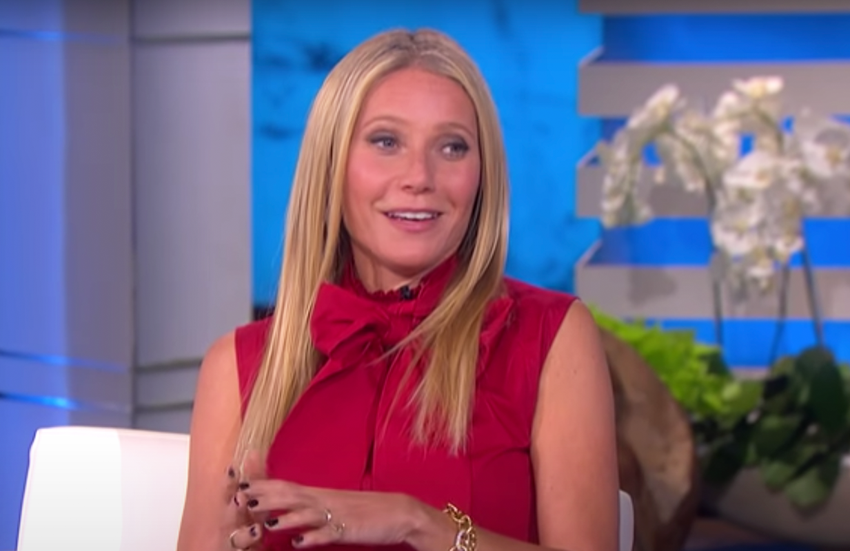 Gwyneth Paltrow on The Ellen DeGeneres Show (Photo: Ellen/YouTube)