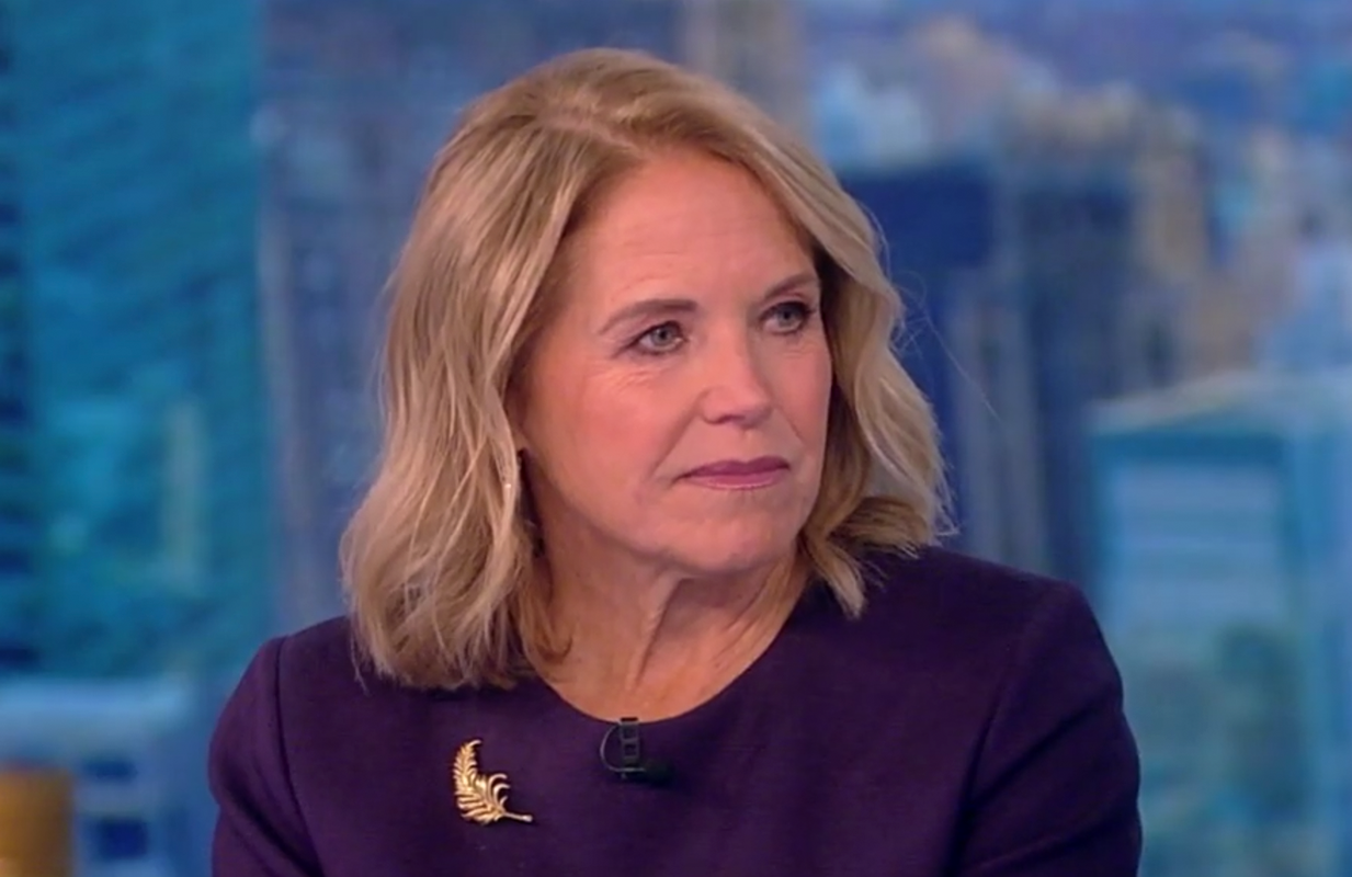 Katie Couric defended her tell-all memoir Monday morning on The View. (Photo: ABC)