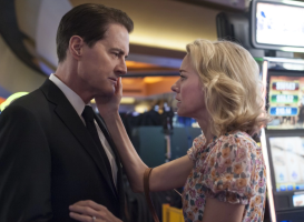Kyle MacLachlan and Naomi Watts in Twin Peaks: The Return (Showtiime)