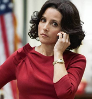 Julia Louis-Dreyfus in HBO's Veep