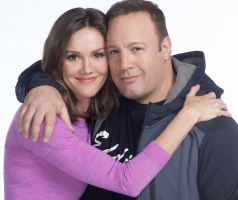 Erinn Hayes and Kevin James in Kevin Can Wait on CBS