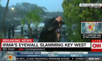 CNN storm coverage