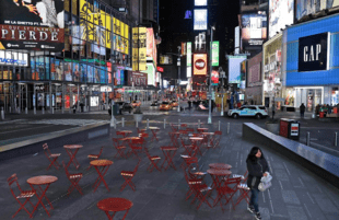 Times Square will be a lot less rockin' this New Year's Eve. (CNN)