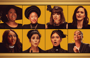 Natasha Rothwell, Phoebe Robinson, Natasha Legerro, Rachel Brosnahan, Ziwe, Sarah Silverman, Patti Harrison, and Tiffany Haddish eulogize 2020 in the new Amazon comedy special Yearly Departed.