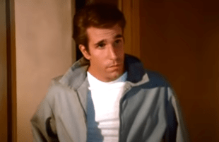 Henry Winkler as The Fonz in Happy Days (ABC)