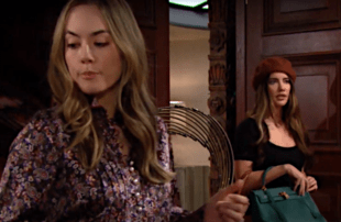 Annika Noelle and Jacqueline MacInnes Wood in The Bold and the Beautiful (CBS)
