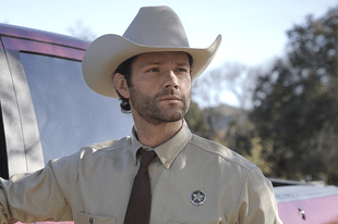 Jared Padalecki in Walker. (The CW)