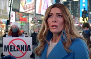 Laura Benanti as Melania Trump on The Late Show with Stephen Colbert (CBS)
