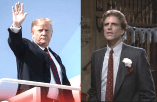 Trump and Sam Malone