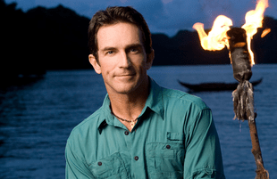 Jeff Probst in an early promotional image for Survivor, (CBS)