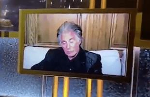 Al Pacino at The Golden Globe Awards (NBC)