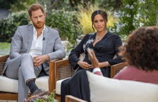 Harry and Meghan's sitdown with Oprah was a royal pain for Buckingham Palace, and it seems they're just getting started (Photo: Joe Pugliese/Harpo Productions)
