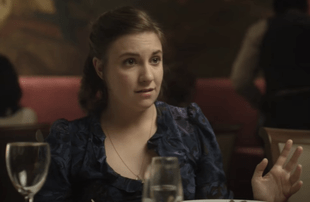 Lena Dunham in Girls (HBO)