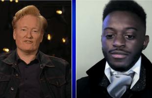 Skyler Higley on Conan (TBS)