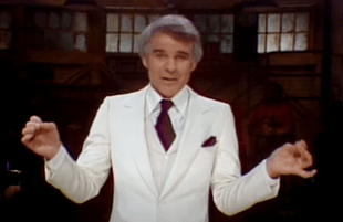 Steve Martin on Saturday Night Live (NBC)