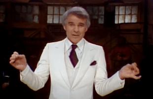 Steve Martin on Saturday Night Live (NBC)