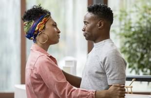 Mj Rodriguez as Blanca, Billy Porter as Pray Tell in Pose. (Photo: Eric Liebowitz/FX)