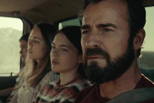 Gabriel Bateman, Melissa George, Logan Polish and Justin Theroux in The Mosquito Coast (Photo: Apple TV+)