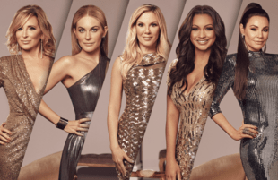 Sonja Morgan, Leah McSweeney, Ramona Singer, Eboni K. Williams and Luann de Lesseps in The Real Housewives of New York City.  (Photo by: Sophy Holland/Bravo)