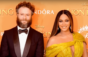 Seth Rogen and Beyoncé in better times (Photo: Daily Pop)