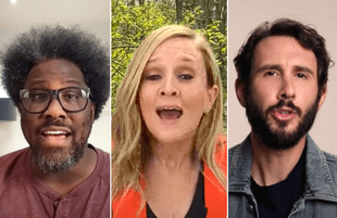 Sam Bee recruited W. Kamau Bell, Josh Groban, and more famous friends for a gun reform PSA (Photos: TBS)