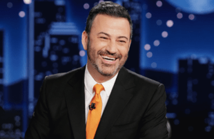 Jimmy Kimmel photographed last week on the set of Jimmy Kimmel Live!. (Randy Holmes/ABC)
