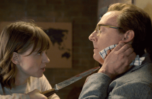 Kristen (Katja Herbers) goes there with Leland (Michael Emerson). (Photo: CBS)
