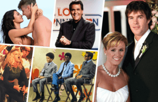Too Hot to Handle, Love Connection, The Bachelorette and Singled Out all trace their roots back to The Dating Game. (Photos: Netflix, Telepictures, ABC and MTV)