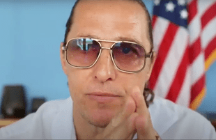 Matthew McConaughey issued a July 4 address urging unity and patriotism. (Photo: YouTube)