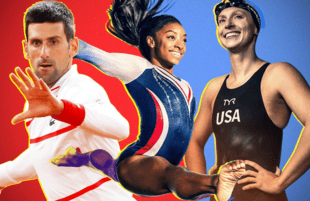 Novak Djokovic, Simone Biles and Katie Ledecky could help make this a summer games to remember. (Photos: NBC)